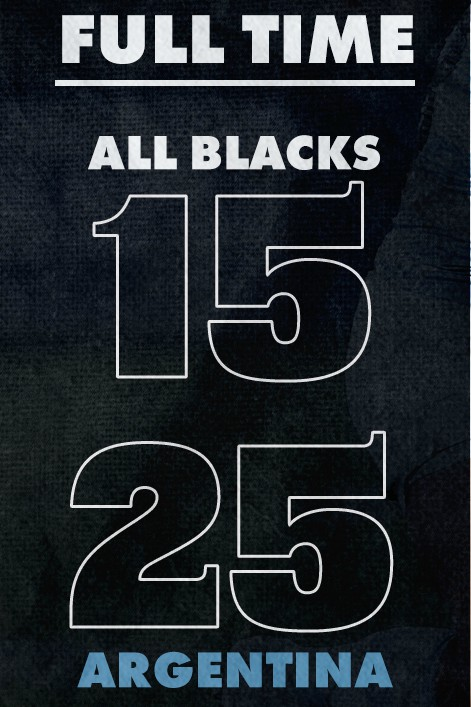 All Blacks 15-25 Argentina